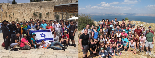 Two Birthright Groups Visit Israel